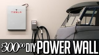 Download $300 DIY Tesla Powerwall - Solar storage 18650 lithium ion home Battery Video