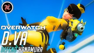 Download Overwatch Indonesia D.VA Gameplay Defend Hanamura Video