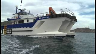 Download Wind Farm Service Vessel Mercurio Shipyard Video