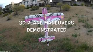 Download Basic 3D Plane Maneuvers Demonstrated Video