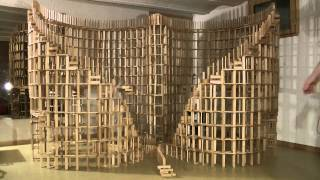 Download HTK#26 - kapla construction destruction domino : double spirale 2 Video