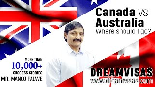 Download Australia Vs Canada migration visa comparison By Manoj Palwe Video