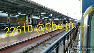 Download Coimbatore - Mangalore Central Intercity SF express departing CBE jn...... Video