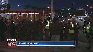 Download Dozens gather for local Fight for $15 Video