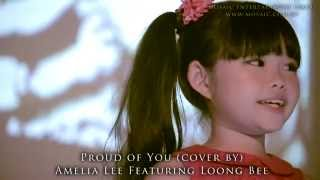 Download Proud Of You (Cover) by 7-Year-Old Amelia Lee feat. Sand Artist Loong Bee Video