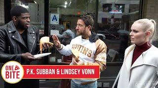 Download (P.K. Subban & Lindsey Vonn) Barstool Pizza Review - Rocky's Pizza Bar Video