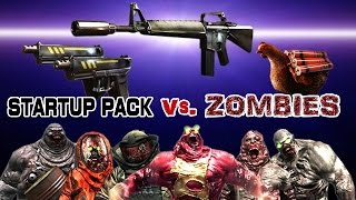 Download Dead Trigger 2 M-16 Dual Glock Boom Chicken (Startup pack) vs. Zombies HD Video