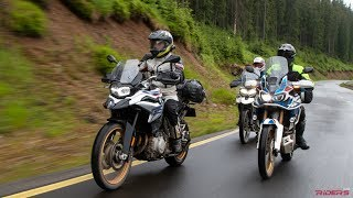 Download F850GS vs. Africa Twin vs. Tiger 800 | 2018 MY Comparison Review - Part I Video