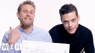 Download Rami Malek & Charlie Hunnam Answer the Web's Most Searched Questions | WIRED Video