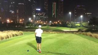 Download Night golf at The Emirates Faldo Video