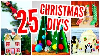 Download 25 DIY Christmas Decorations! Room Decor Projects & Crafts Video