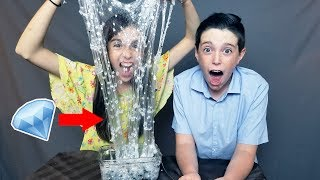 Download CRYSTAL DIAMOND SLIME!! w/ REAL DIAMONDS! Video