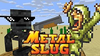 Download Monster School : METAL SLUG CHALLENGE - Minecraft Animation Video