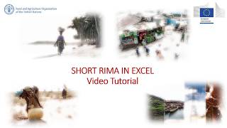 Download FAO video tutorial: how to measure resilience with Excel Video