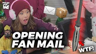 Download SOMEONE SENT US AN ACTUAL SPEAR WTF! l OfflineTV Holiday Fan Mail! 🎄 Video