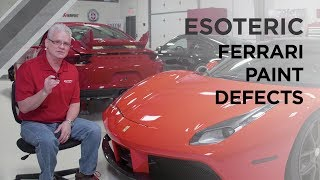 Download Ferrari Detailing Part 2 - How to Identify Paint Defects - ESOTERIC Car Care Video