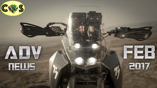 Download Adventure News: Yamaha T7, Honda CRF500L, and CCM GP600 Video