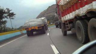 Download Khopoli to Khandala via Old Mumbai-Pune Highway Video