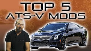 Download Cadillac ATS-V Top 5 Mods | ZZPerformance Video