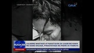 Download Lalaking nagtago at nakatulog sa ilalim ng kama ng isang dalaga, pinagtataga ng padre de pamilya Video