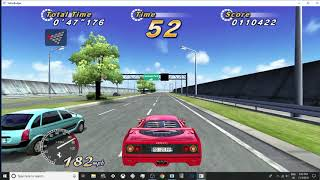 out run sp and machstorm in teknoparrot 1 50d Free Download Video