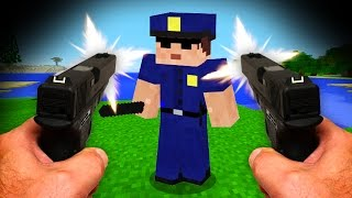 Download REALISTIC MINECRAFT - STEVE BECOMES A COP! 👮 Video