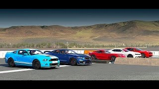 Download World's Greatest Drag Race! Shelby GT350R, GT500, Hellcat, Srt VIPER, Camaro Z/28 - Forza 6 Video