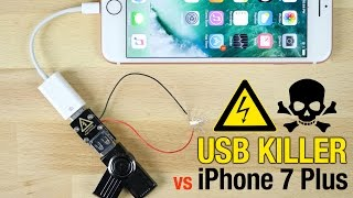 Download USB Killer vs iPhone 7 Plus - Instant Death? Video
