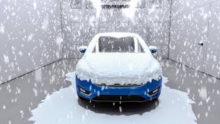 Download Ford's 'Weather Factory' can simulate global weather conditions Video