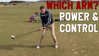 Download Which arm should CONTROL the Golf Swing? Video