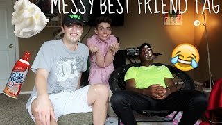 Download MESSY BEST FRIEND TAG | Bruhitszach Video