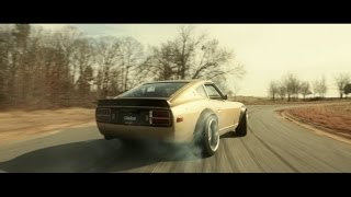 Download Dream Like a Champion: Chris Forsberg Drifts a Rare Skyline Powered Nissan 280Z Video