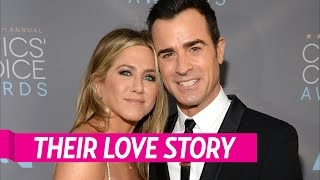 Download Relive Jennifer Aniston and Justin Theroux's Love Story Video