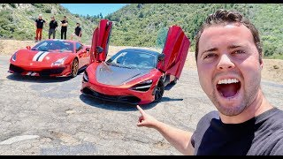 Download 100 LAMBORGHINIS AND MCLARENS SHUT DOWN BEVERLY HILLS! Video