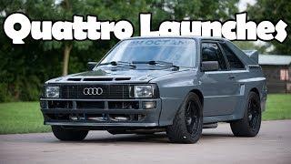 Download Most Insane Audi Quattro Launches Video