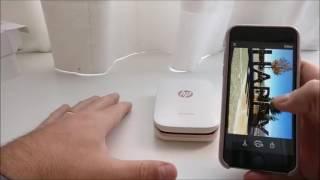 Download HP Sprocket Impresora fotográfica portátil Opiniones Video