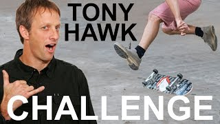 Download TONY HAWK CHALLENGES ME: LEARN TO HEELFLIP FOR CHARITY Video