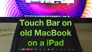 Download MacBook 2016 Touch Bar on your old Mac Today Video