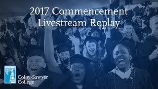 Download Colby-Sawyer College Commencement 2017 Livestream Replay Video