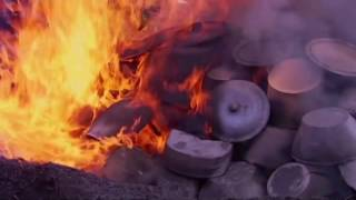 Download Bisalhães black pottery manufacturing process, Portugal Video