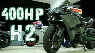 Download 400HP Kawasaki H2 - 214mph STREET RACE! 1300HP GTR - Nitrous Hayabusa Video