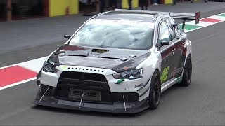 Download Mitsubishi Lancer EVO X Time Attack MONSTER OnBoard @ Mugello! - SCREAMING Turbo Sounds! Video
