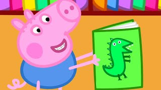 Download Peppa Pig English Episodes | Peppa Pig Learns to Read | Peppa Pig Official Video