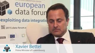 Download EDF2015 INTERVIEW XAVIER BETTEL Video
