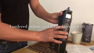 Download UV sterilizer With Filter (sunsun) Review Video