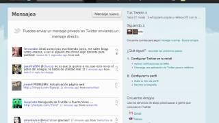 Download Twitter- Tipos de tweets, mensajes y cómo borrarlos Video