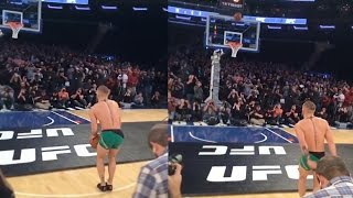 Download Conor McGregor Does His Best Steph Curry Impression Video