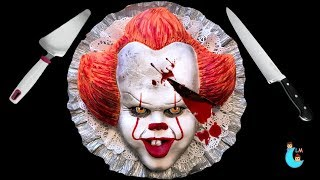 Download IT Pennywise Cake 🎈 Torta de Pennywise 🤡 Halloween Ideas 🤡 Luna Mia Video