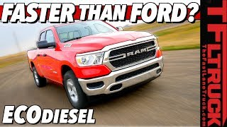 Download How Quick Is The 2020 Ram 1500 EcoDiesel? We Weren't Expecting THESE Results! Video
