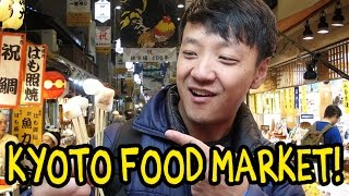 Download Kyoto Japan Street Food Tour! Nishiki Market Video